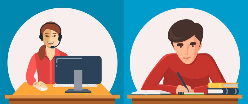 ielts offline & online test