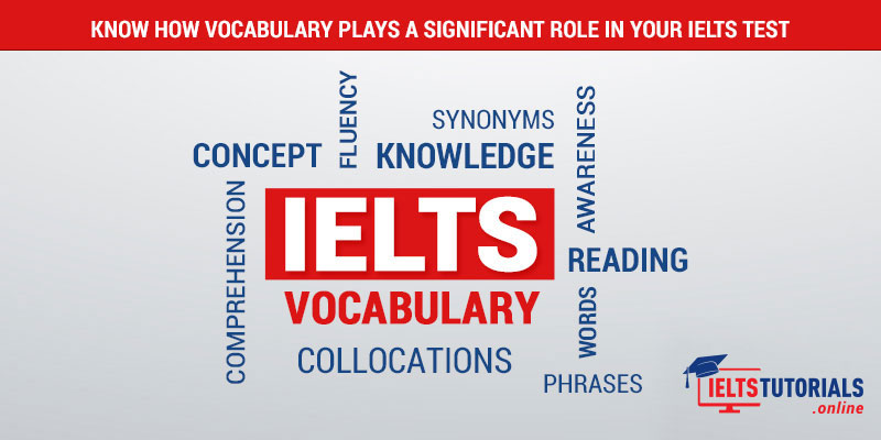 Vocabulary Plays a Significant Role