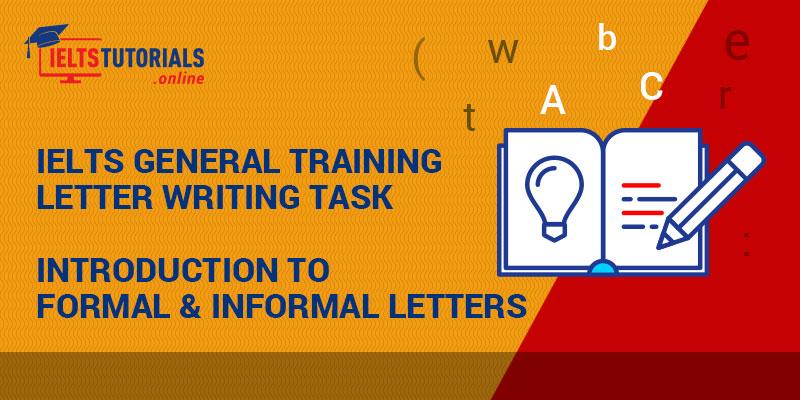 Formal & Informal Letters