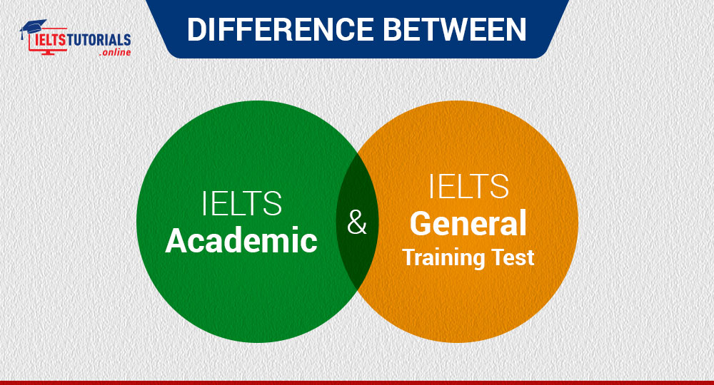 Difference between IELTS Academic & General Training Tests